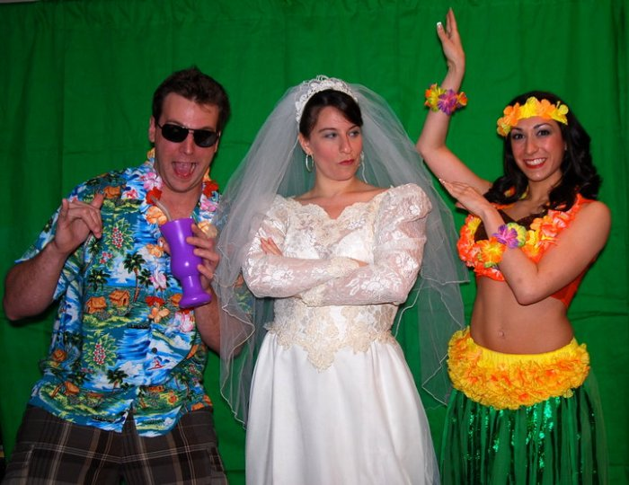 The Wacky Luau Wedding Show